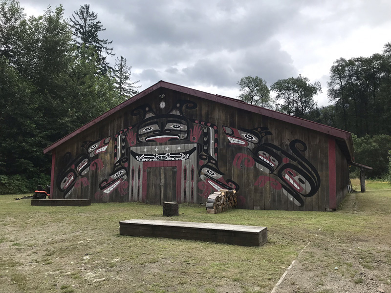 Sts'ailes Longhouse Program Creates Cultural Safety